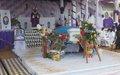 L'abbé Malu Malu inhumé hier à  Butembo