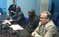 """Conférence de presse  - Adama Dieng : """"Il est urgent que cesse la violence... il convient de faire en sorte qu'aucun crime ne demeure impuni"""