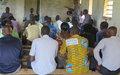 La MONUSCO sensibilise à Dimbelenge pour la paix et la coexistence pacifique