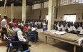 La MONUSCO sensibilise les élèves à la culture de la paix à Dungu