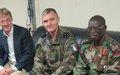 Visite de deux jours à Beni du commandant adjoint de la Force de la MONUSCO