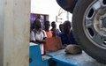 La MONUSCO forme des jeunes d'Uvira à des métiers techniques.