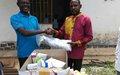 La Monusco offre un lot de médicaments à la prison d'Uvira