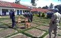 La MONUSCO forme des policiers congolais sur la sécurisation du processus électoral