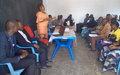 Des femmes sensibilisées sur la gouvernance démocratique et la protection des civils