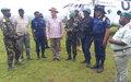 Le Gouvernement provincial et la MONUSCO au chevet des déplacés internes de Bulé en Ituri