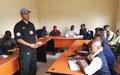 La Police MONUSCO forme des agents de renseignements généraux de la PNC