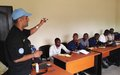 MONUSCO Police form general information officers of the PNC