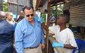 David Gressly promet de mobiliser les partenaires de la RDC pour la lutte contre Ebola