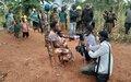 Ituri : deux journalistes de Bunia accompagnent des casques bleus de la MONUSCO sur le terrain à Djugu