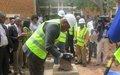 Lualaba : La MONUSCO  finance la construction d'un cachot  au parquet de Kolwezi