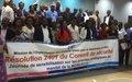 La MONUSCO explique ses objectifs prioritaires aux acteurs de la société civile