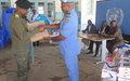 La MONUSCO et ses partenaires appuient en matériel la justice militaire à Kananga