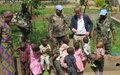 La Monusco construit des latrines et des douches pour l'orphelinat de Paida à Beni