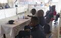 La Police MONUSCO soutient la redynamisation de la coordination de lutte contre les violences basées sur le genre