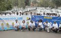 A road safety campaign to reduce traffic accidents and improve the image Of Monusco in DRC