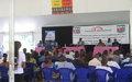 Des jeunes et leaders communautaires de Beni sensibilisés sur le rôle de la MONUSCO