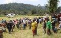 Nord Kivu: La MONUSCO et ses partenaires évaluent la situation humanitaire à Pinga