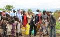 La police MONUSCO offre semence et matériel agricole aux femmes déplacées du camp «cinquantenaire»