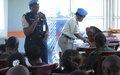 A Kananga, l'UNPol sensibilise sur l'élimination des violences à l'égard des femmes