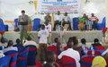 La MONUSCO soutient l'engagement des journalistes de Beni en faveur de la démocratie et de la riposte contre Ebola