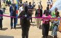 La MONUSCO réhabilite le Stade Amani de Bunia