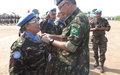Kananga : 300 soldats et officiers du contingent marocain de la MONUSCO décorés de la médaille des Nations Unies