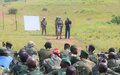 Bunia : La MONUSCO sensibilise les nouvelles unités de l'armée congolaise  au respect des droits humains