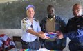 La MONUSCO facilite la réinstallation du sous-commissariat de Ngilima, en province du Haut-Uélé