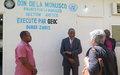La MONUSCO aménage des bureaux pour les magistrats de l'Ituri