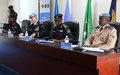 Quatrième réunion intermissions des chefs de la composante Police des Nations unies à Kigali