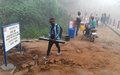 Ituri : la MONUSCO fournit du travail temporaire à 1500 jeunes à risque dont des ex-combattants