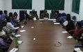 Les étudiants du Burundi, du Rwanda et du Nord-Kivu soucieux de comprendre le travail tel que fait par la MONUSCO en faveur de la RDC