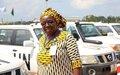LONGHI FAIDA JEANNETTE: Une  femme Casque bleu Congolaise au service des communautés locales