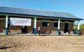 La MONUSCO appuie l'agrandissement d'une école à Kabalo dans le Tanganyika