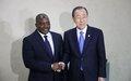 Ban Ki-moon encourage le Président congolais Kabila à apaiser les tensions dans son pays
