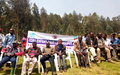 Nord Kivu : La MONUSCO sensibilise la population de Kibumba sur  zéro enfant dans les groupes armés