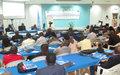 Cent journalistes formés par la MONUSCO au traitement de l'information en période de crise