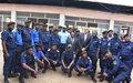 La MONUSCO et la France appuient la Police Nationale Congolaise pour l'utilisation de fichiers criminels