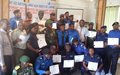 Des officiers FARDC et PNC s'engagent à la protection des civils dans les zones de Conflits