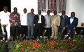 Le Chef de la MONUSCO a reçu, hier dimanche, une délégation du Rassemblement dans le cadre de sa mission de bons offices