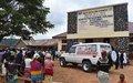 Le Centre de Santé d'Erengeti dispose désormais d'une ambulance médicalisée