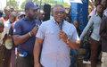 La MONUSCO réhabilite le stade «AMANI» de Bunia