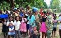 GHANBATT female engagement team boosts image of Ghana in UN Operations in DRC