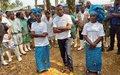 «On doit absolument gagner la bataille contre Ebola», affirme David Gressly