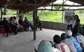 La MONUSCO appuie les travaux des Comités locaux de paix à Mbayo, territoire de Manono