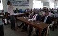 Mbujimayi : La MONUSCO met en place un comité local de protection