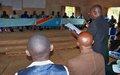 La MONUSCO facilite la tenue du mini forum sur la paix et la cohabitation pacifique  dans le territoire de Kongolo