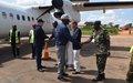Visite à Beni du Comité d'appui technique pour la mise en œuvre de l'Accord-cadre pour la sous-région