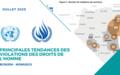 Principales tendances des violations des droits de l'homme – JUILLET 2020